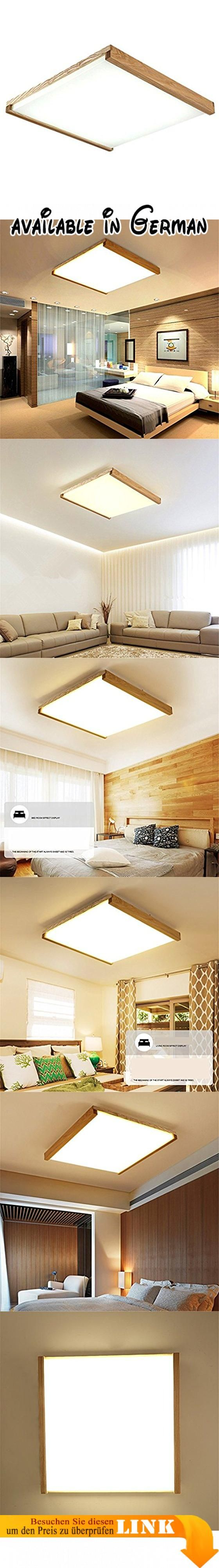ZHUYANPENG Schlafzimmer Führte Deckenleuchte Nordic Holz Wohnzimmer  Deckenleuchte Kinderzimmer Küche Massivholz Einfache Deckenleuchte Acryl  Schattu2026