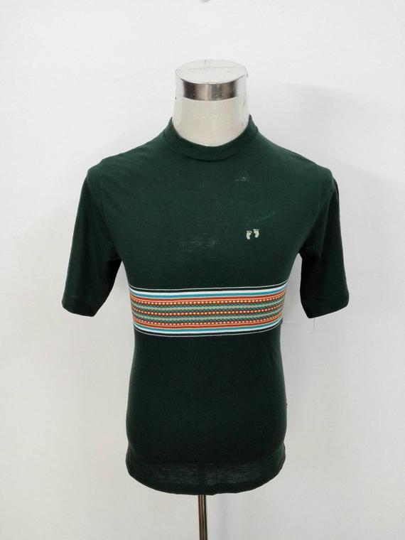 5fba0aa441 Sale!! Vintage 90s Hang Ten Tshirt Stripe Colour Design Surf Size ...