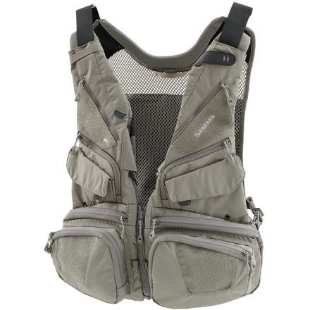 The Simms Waypoints Convertible Vest Offers An Abundance Of Utilitarian Pockets Alongside A Magnetic Release For Attaching To Co Fishing Vest Vest Hunting Vest