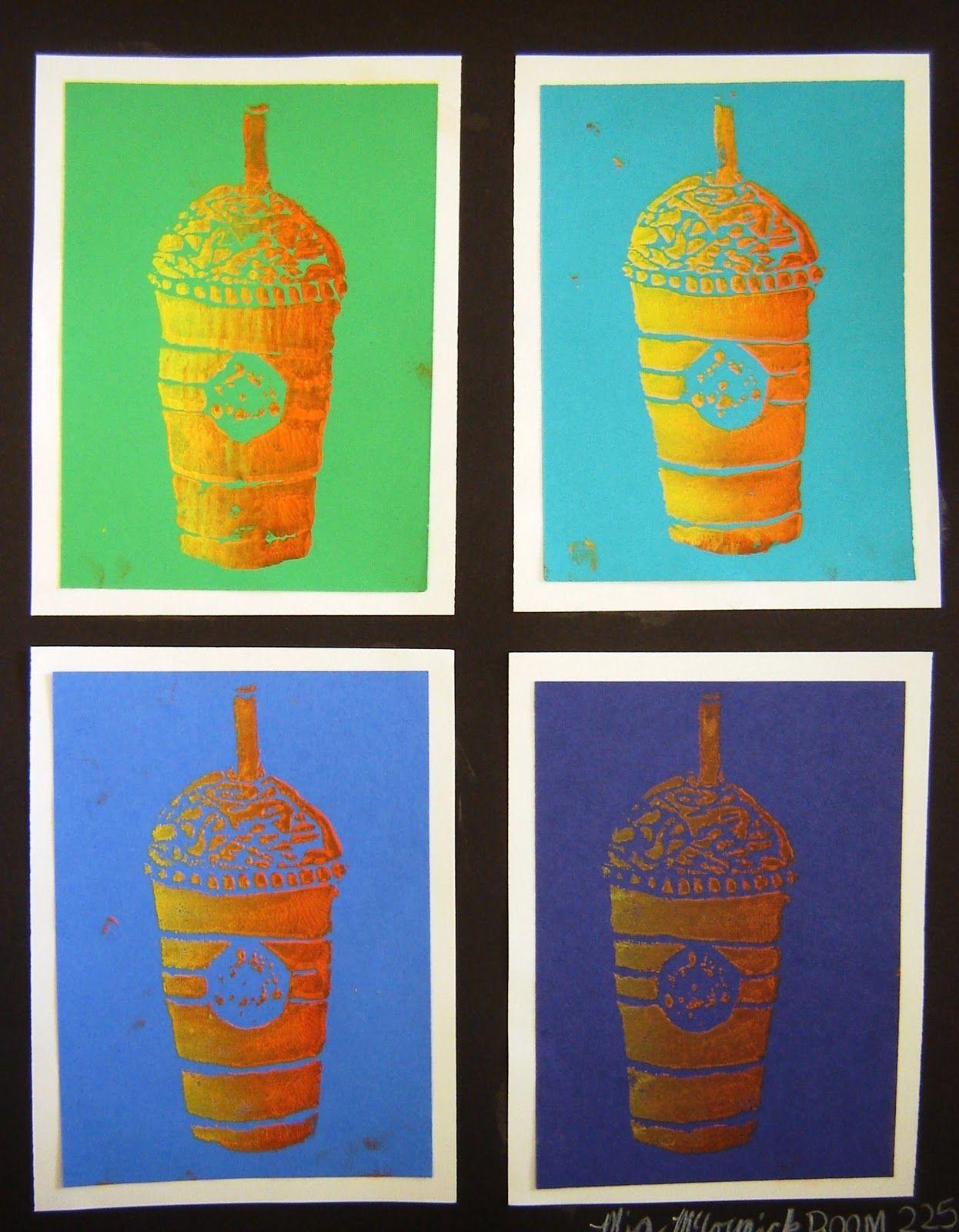 Cool Pop Art Idea Artiswhatiteachspot
