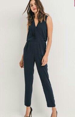 promod combinaison pantalon noir