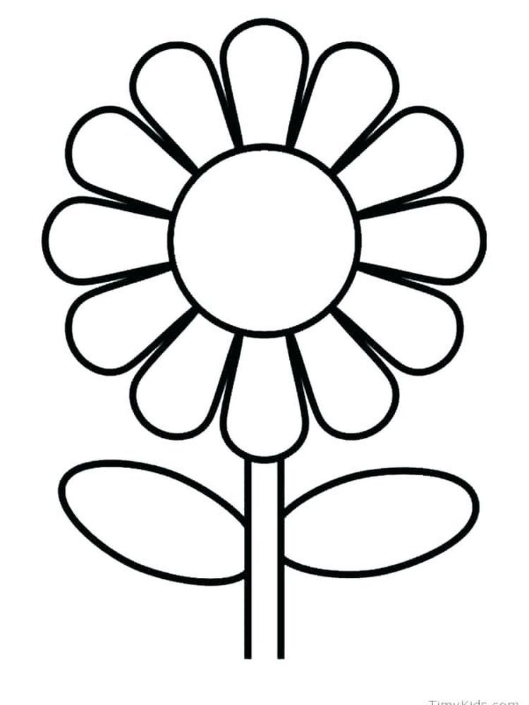 Spring Flower Coloring Pages Free In 2020 Sunflower Coloring Pages Flower Coloring Pages Printable Flower Coloring Pages