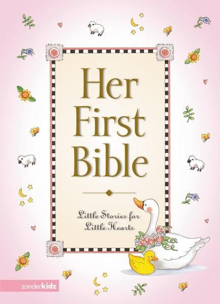 With this story Bible you can begin to hide God's word in a little girl's heart.