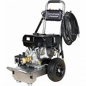 Petrol driven pressure washer