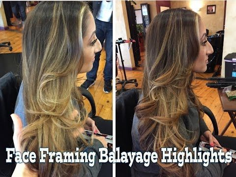Balayage With Two Colors Lowlights And Balayage In Between