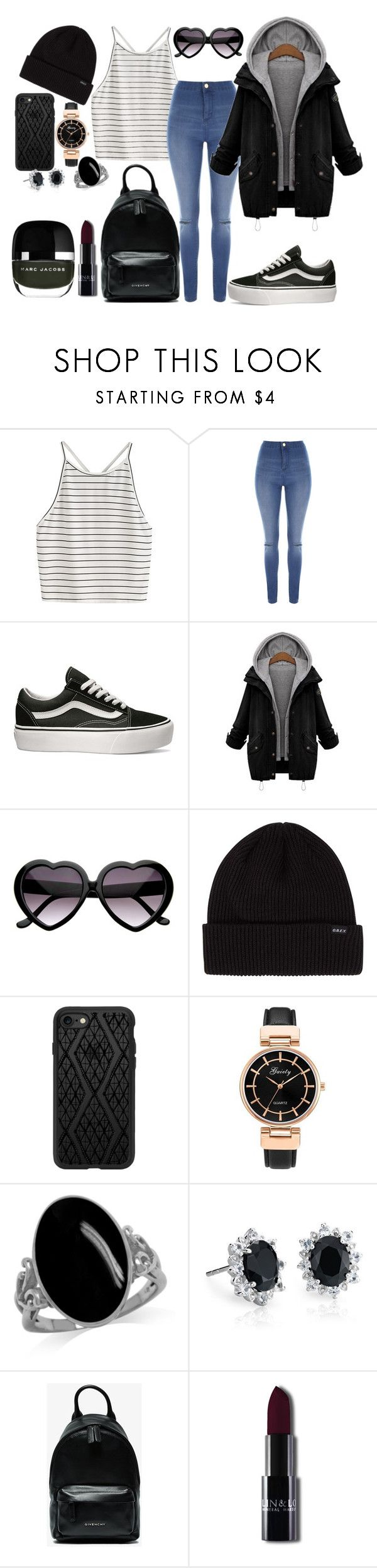 """""""Untitled #111"""" by amor-de-pandicornios on Polyvore featuring Jane Norman, Vans, Casetify, Blue Nile and Givenchy"""
