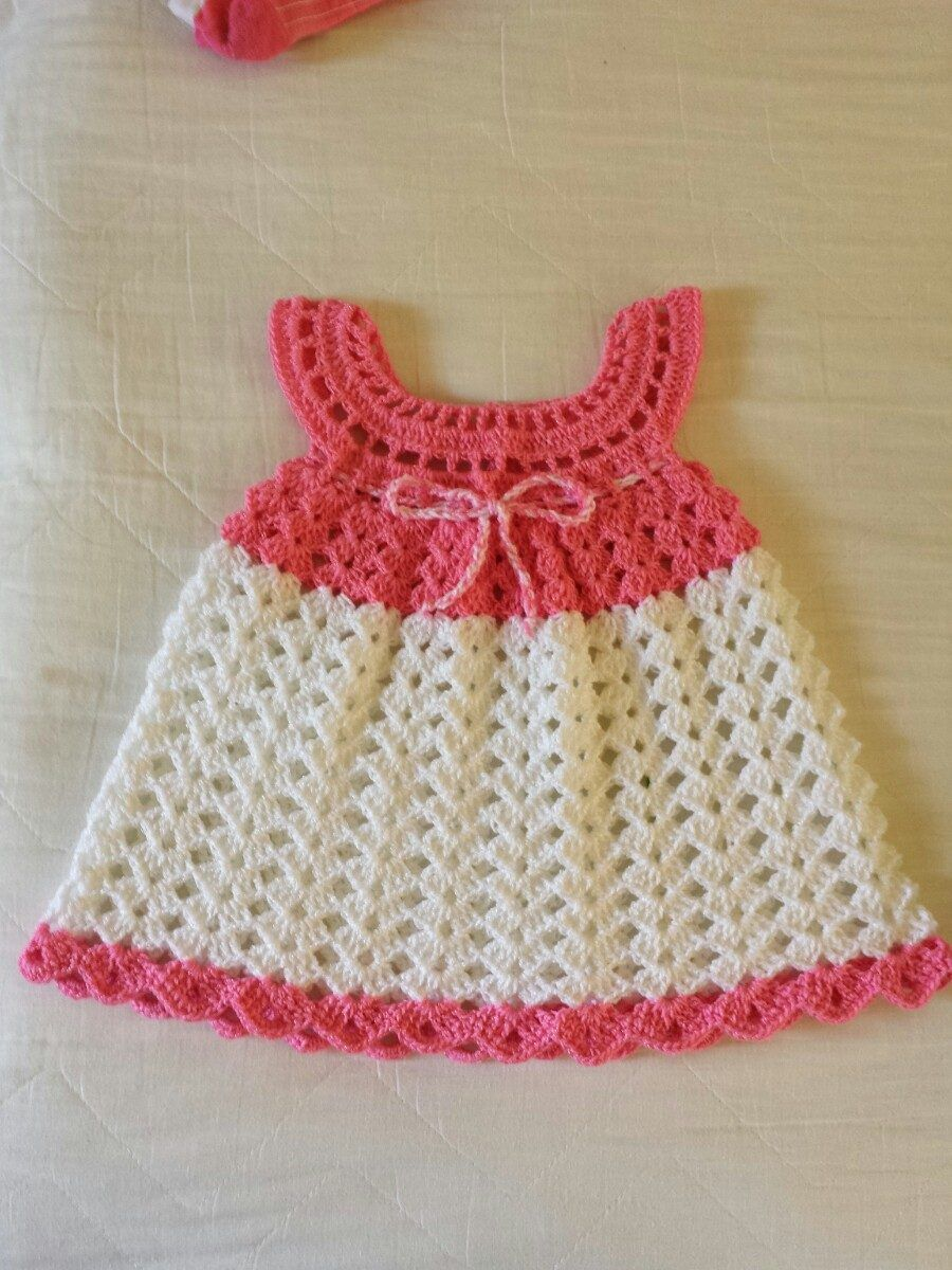 Pin by Lucrecia on vestiditos para nenas | Pinterest | Crochet ...