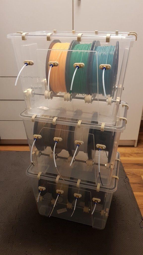 Ikea Samla 22l Filament Box by TheSchneider