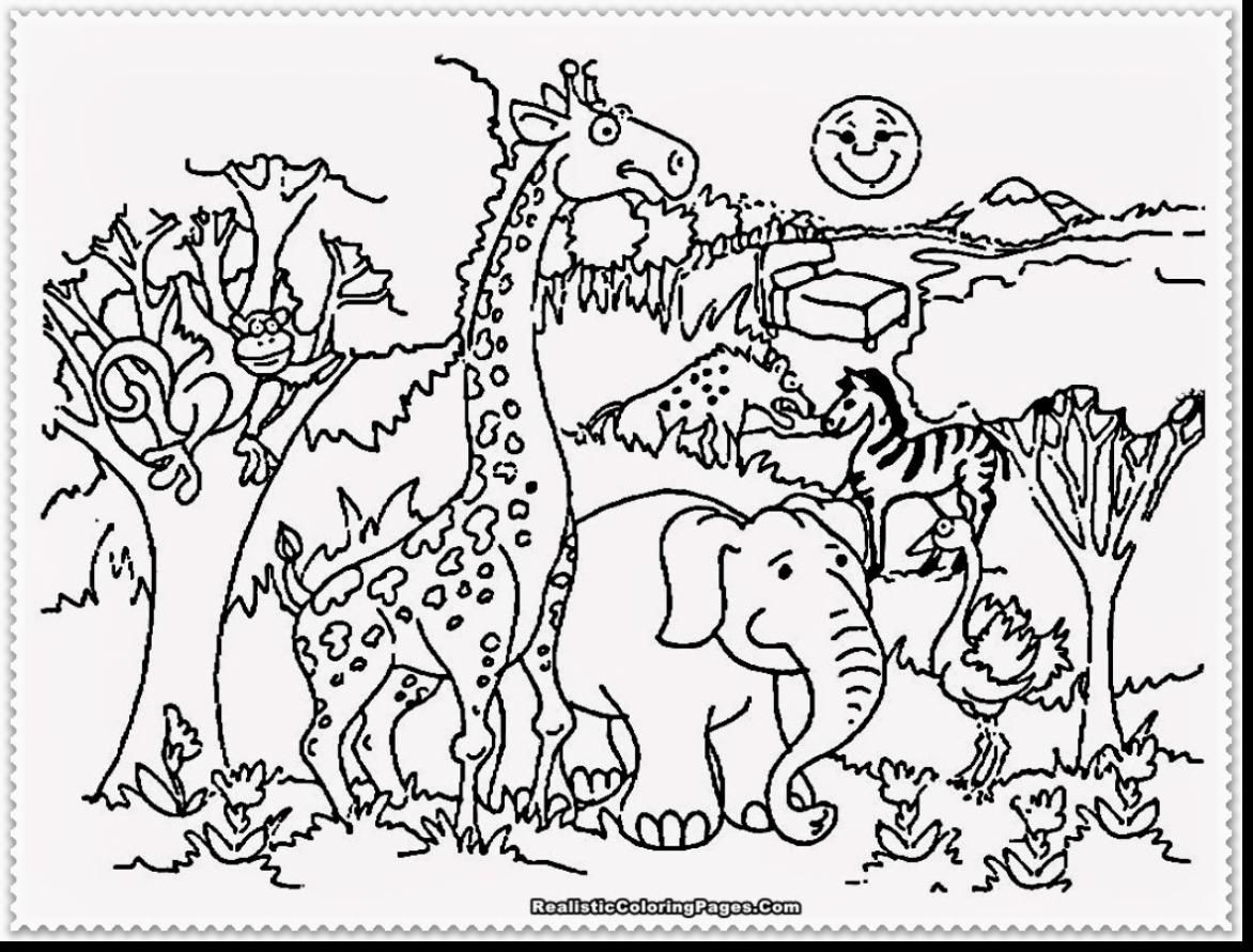 Zoo Animal Coloring Pages Zoo coloring pages, Giraffe