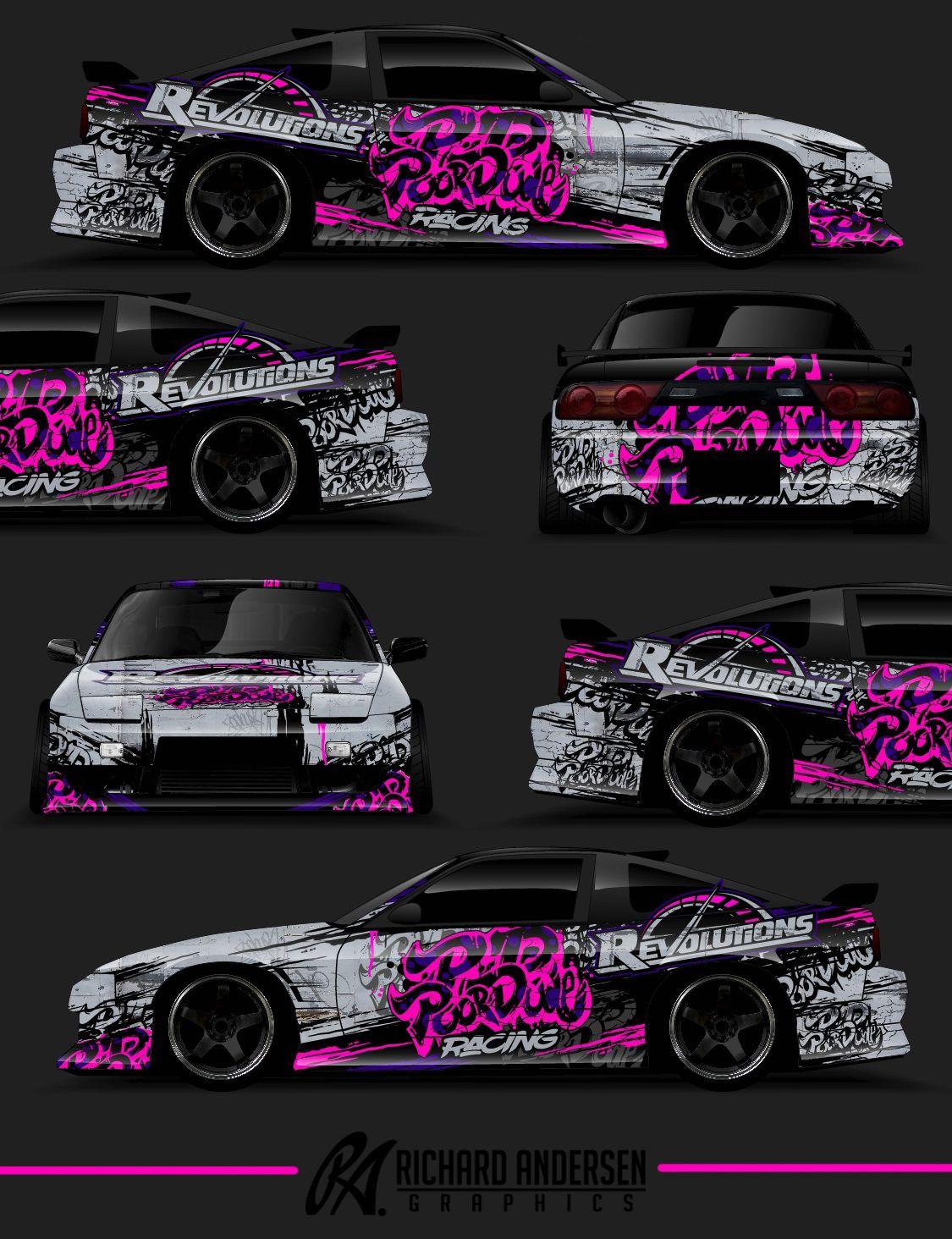 Car club sticker designs - Wrap Design By Richard Andersen Https Ragraphics Carbonmade Com