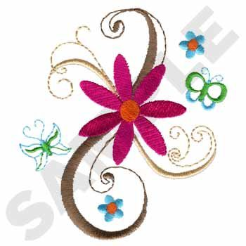 Floral Scroll Dakota Collectibles Free Embroidery Pinterest