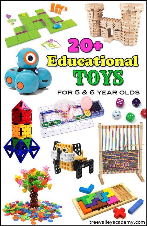 Educational Toys for 6 Year Olds | Kindergarten, Students and ...