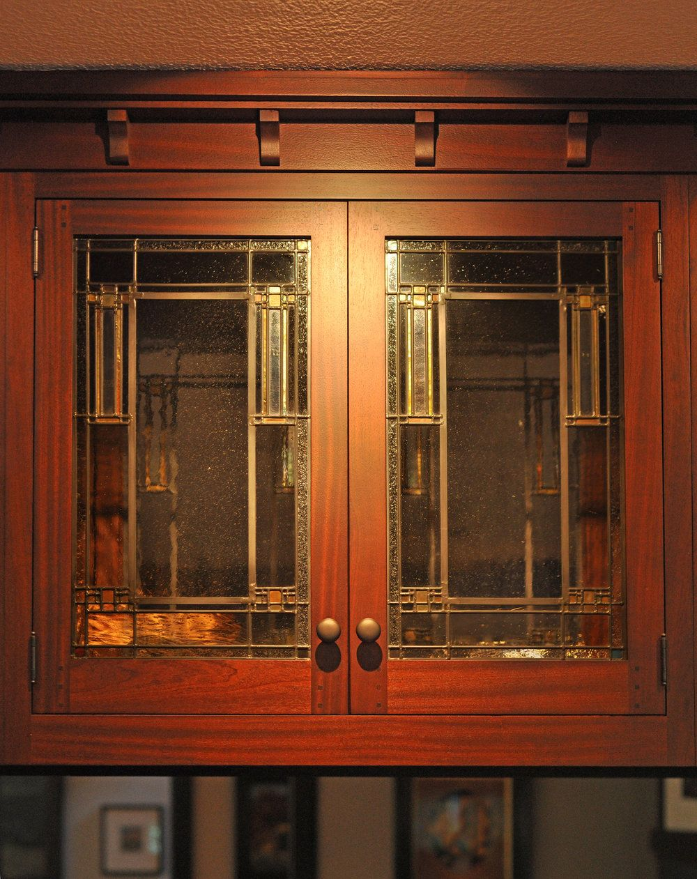 Leaded Glass In Cabinet Doors Was Common In Turn Of The Century Homes We Create Panels Sypathetic T Craftsman Decor Cabinet Door Designs Craftsman Style Homes