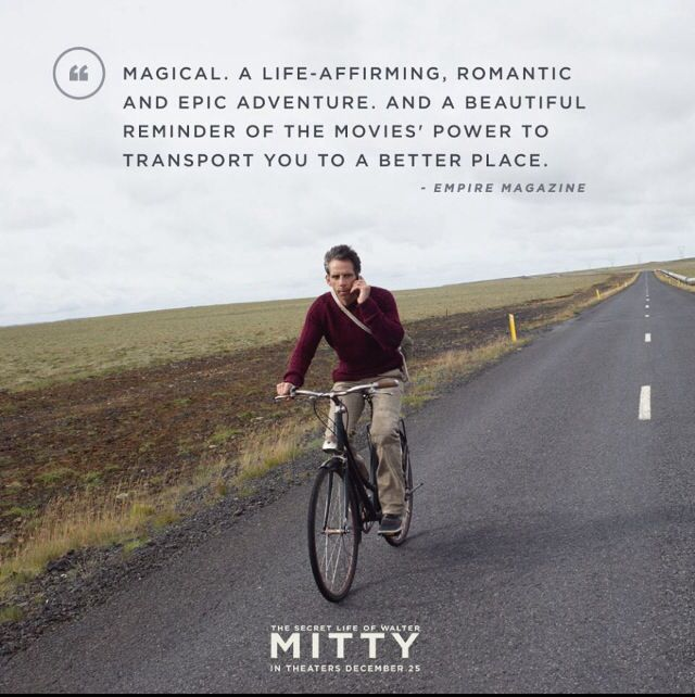 The Secret Life Of Walter Mitty With Images Life Of Walter Mitty