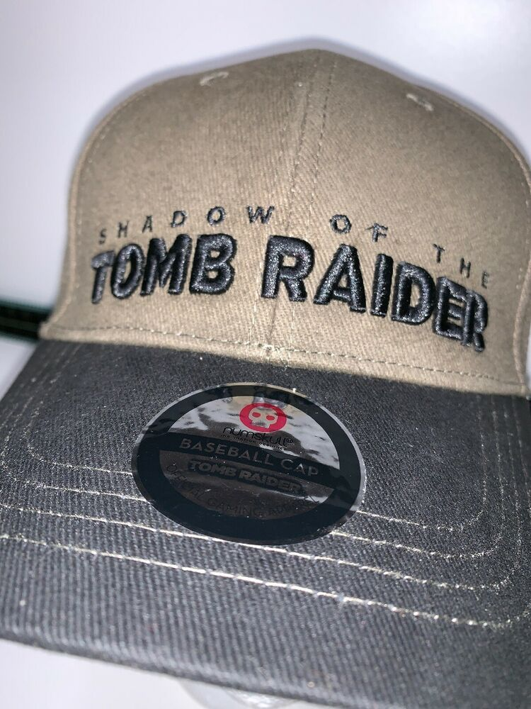 14e7e5f621d Official Shadow Of The Tomb Raider - Curved Peak Baseball Cap Hat Numskull  BNWT 5060576842348