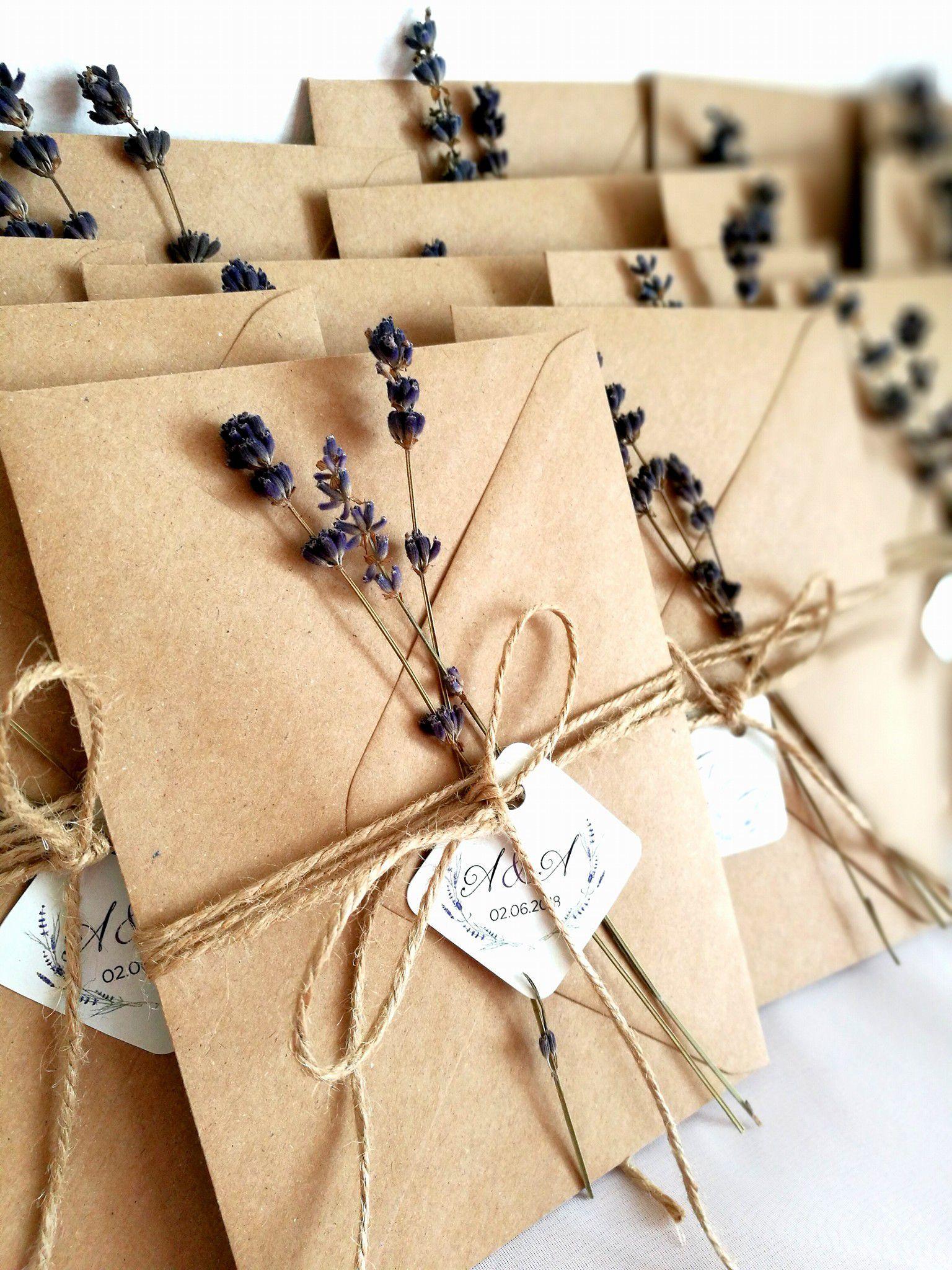 Invitatie nunta cu lavanda, invitatie rustica, invitatie flori, invitatie flori, lavanda | Breslo