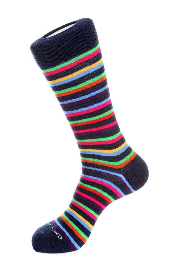 Smart Stripe Sock