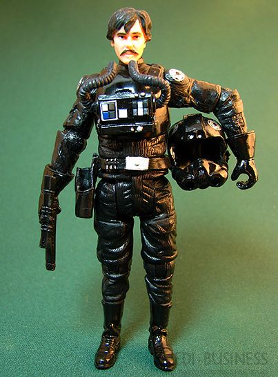 Star Wars Evolutions Legacy Collection Imperial Pilot Legacy BIGGS CLONE WARS