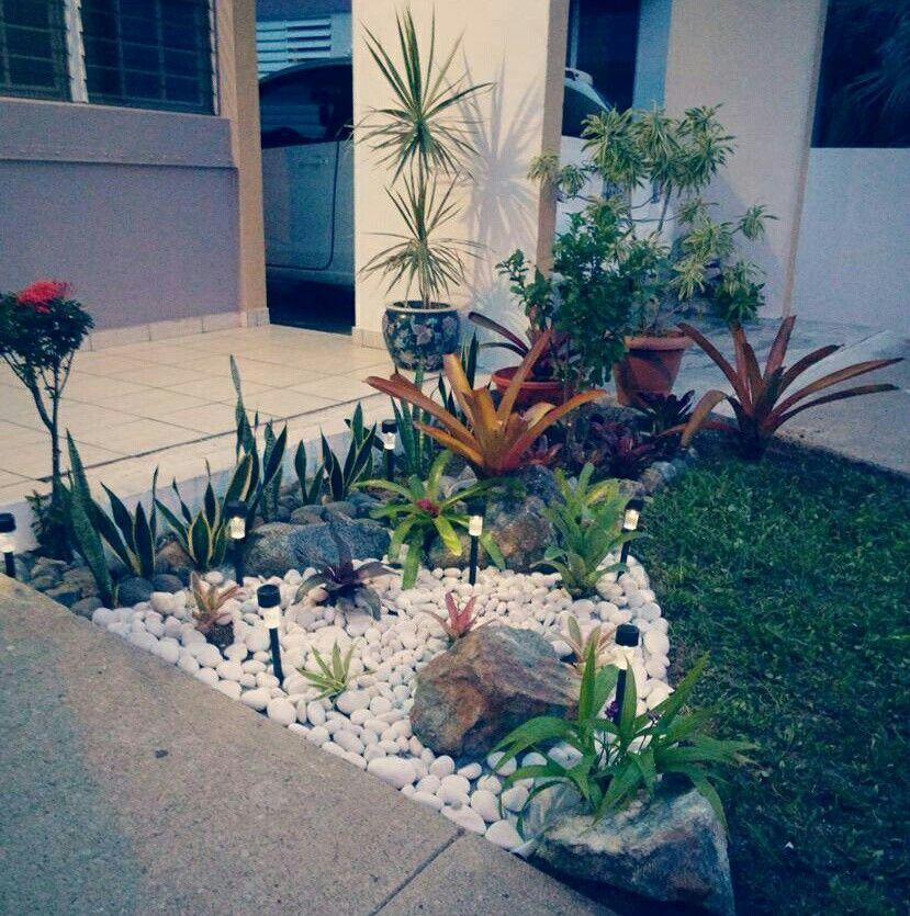 Ideas De Diseño De Jardines Residenciales: Arreglos Con Bromelias