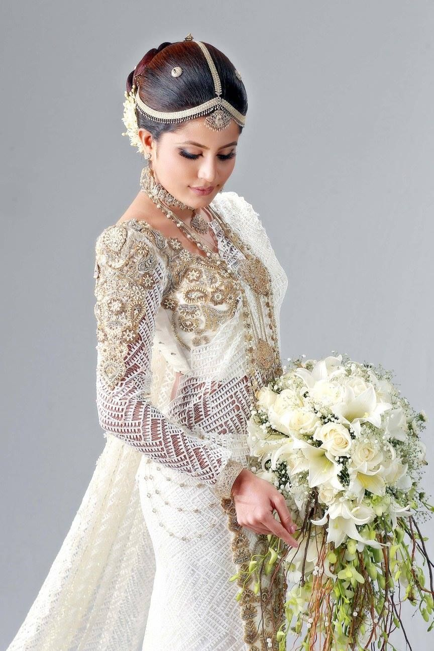 dressed by parakrama dimithri | Sri Lankan Weddings | Pinterest ...