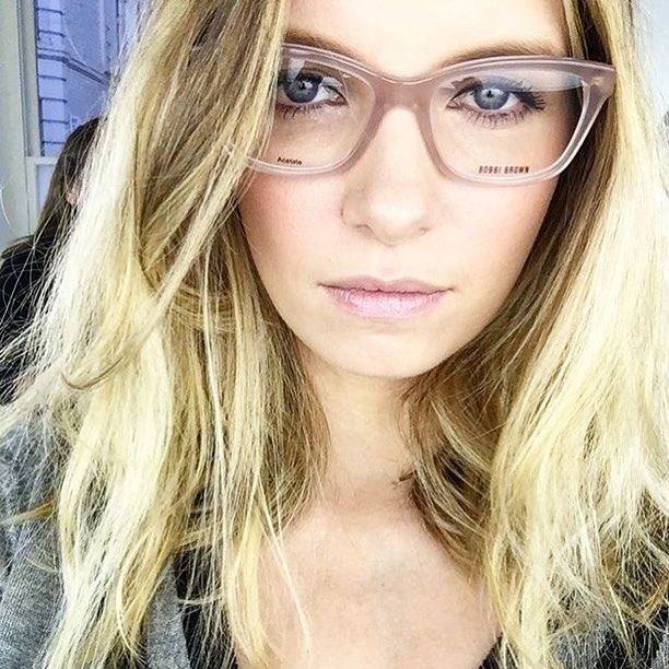 f754e8b1492  modelrecommends wearing Bobbi Brown eyewear psst Ruth you still have the  Plano lenses in  BobbiBrownEyewear  BobbiBrown  glasses available at   SelectSpecs