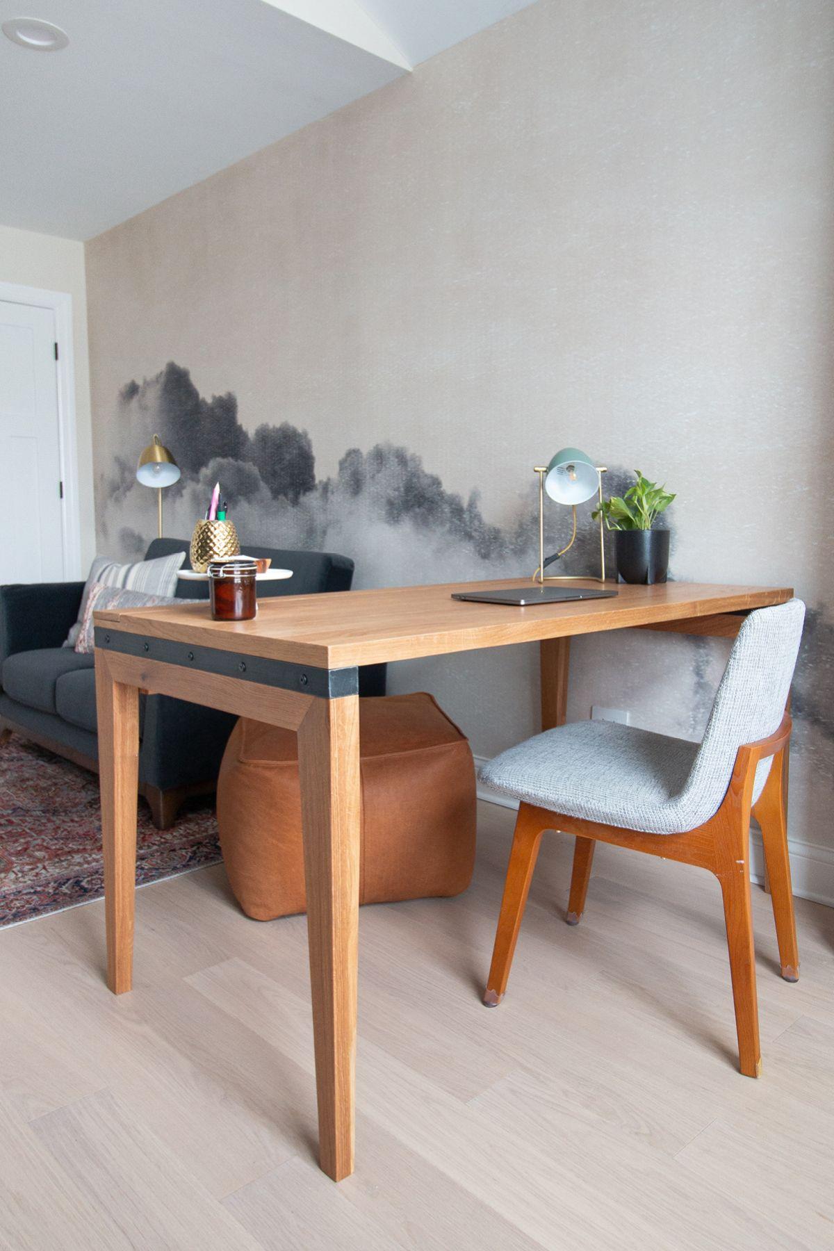 Madera Oak 54 Desk In 2020