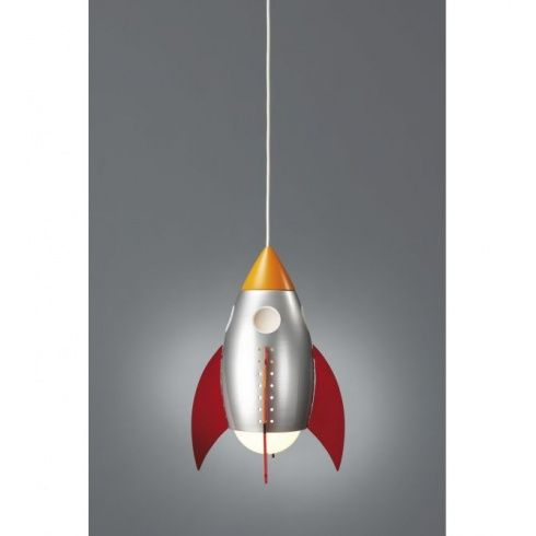 Massive 40204 55 16 rocky multi colour childrens pendant massive from castlegate · rocket lamprobot