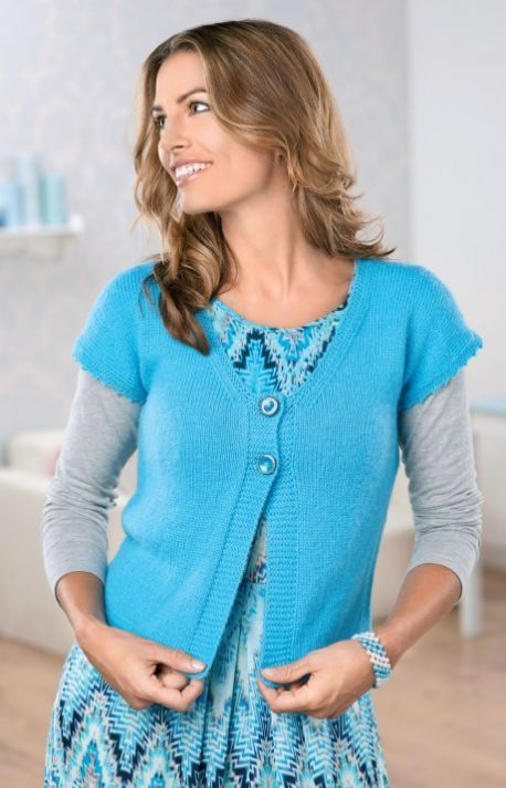 Free Knitting Pattern: BONUS BRITISH PATTERN: Easy Alpaca Cardigan ...