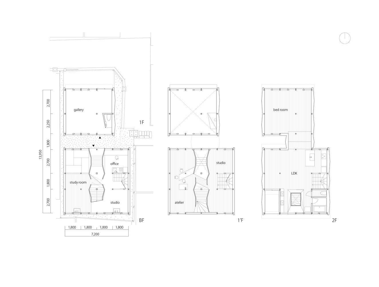 Kizunaya Building Floor Plans Architect Building Floor Plans