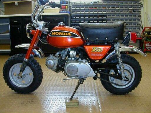 1973 Honda Z50 K4 Minitrail Minibike Mini Bike Custom Radio Flyer Wagon Classic Bikes