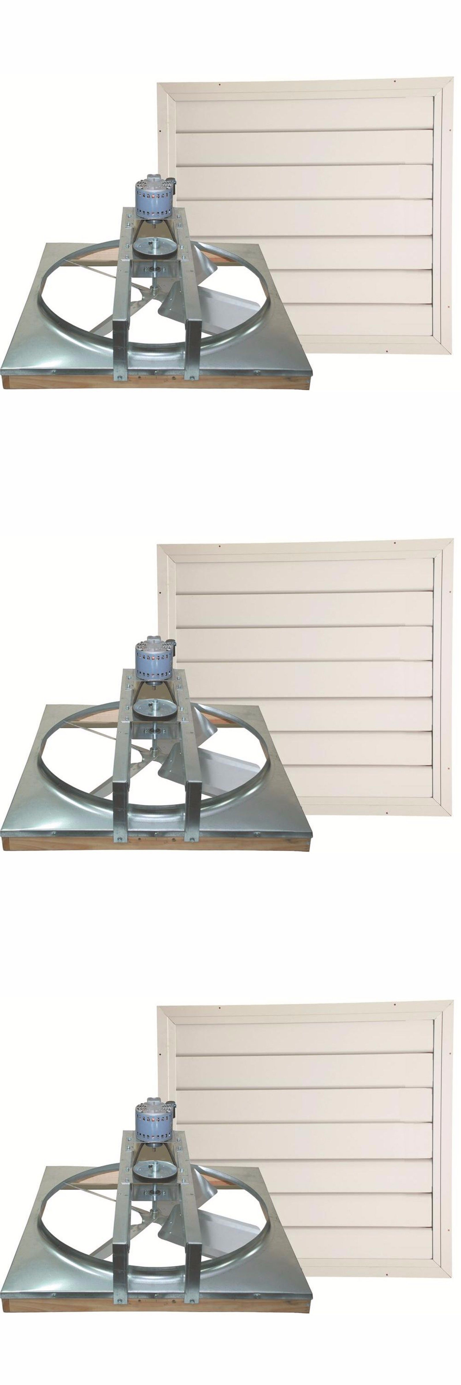 Heat recovery ventilator ebay - Other Home Heating And Cooling 20598 Cool Attic Dual Speed Whole House Fan Belt Drive