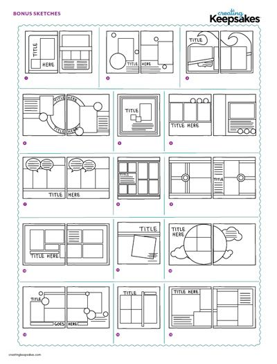 double page layout ideas