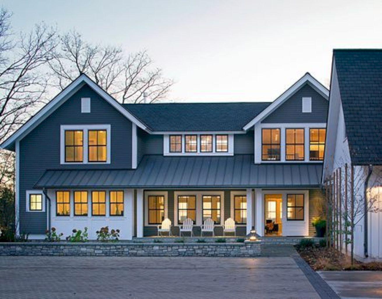 45 Farmhouse Home Exterior Design Ideas Ranch house