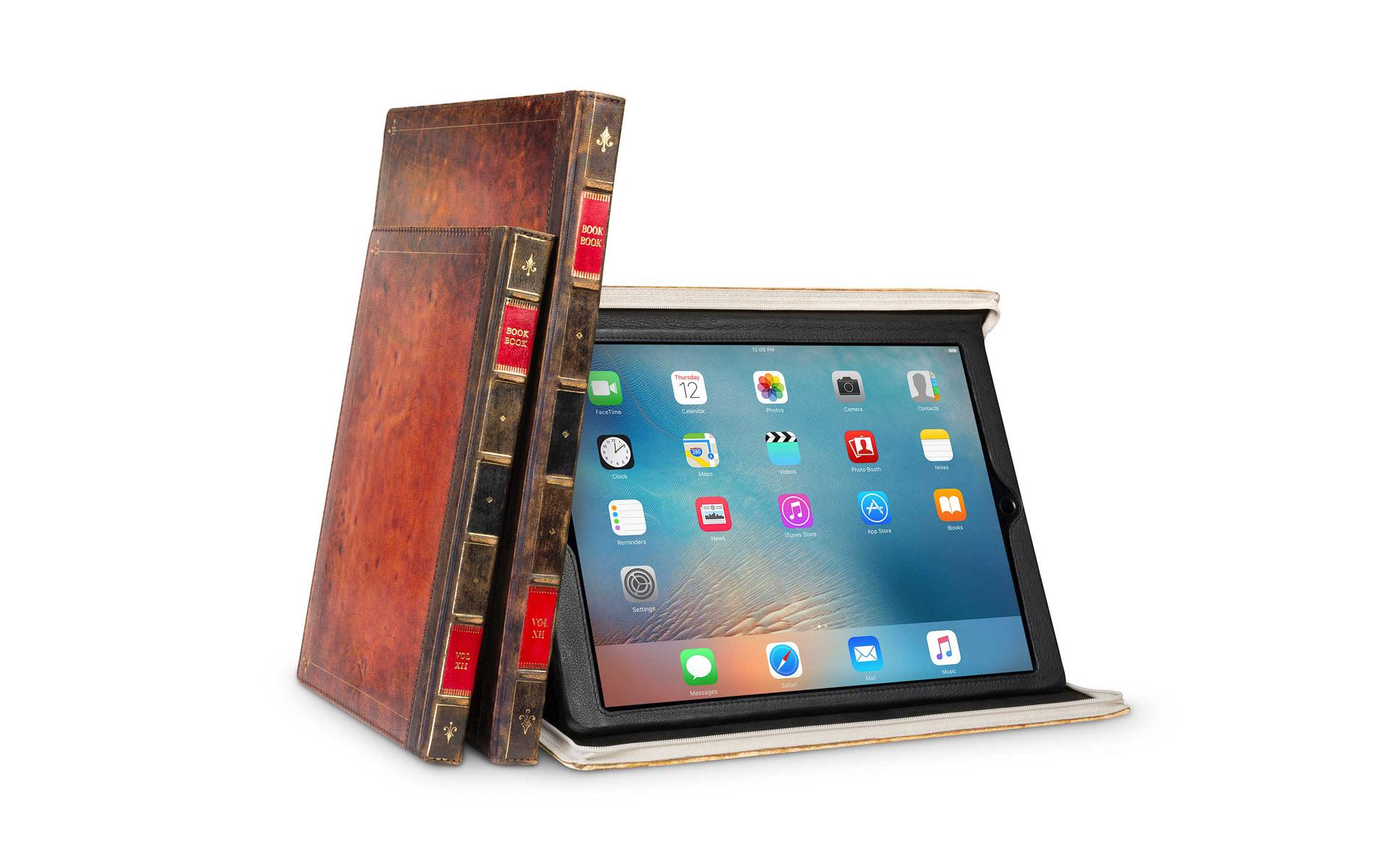 Bookbook For Ipad 8 Air 3 Mini 5 Ipad Portfolio Case Leather Portfolio Case Ipad