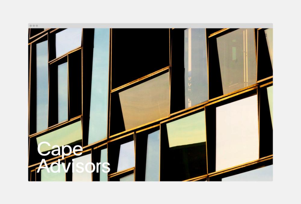 Cape Advisors — Web Design for Real Estate — Lovably