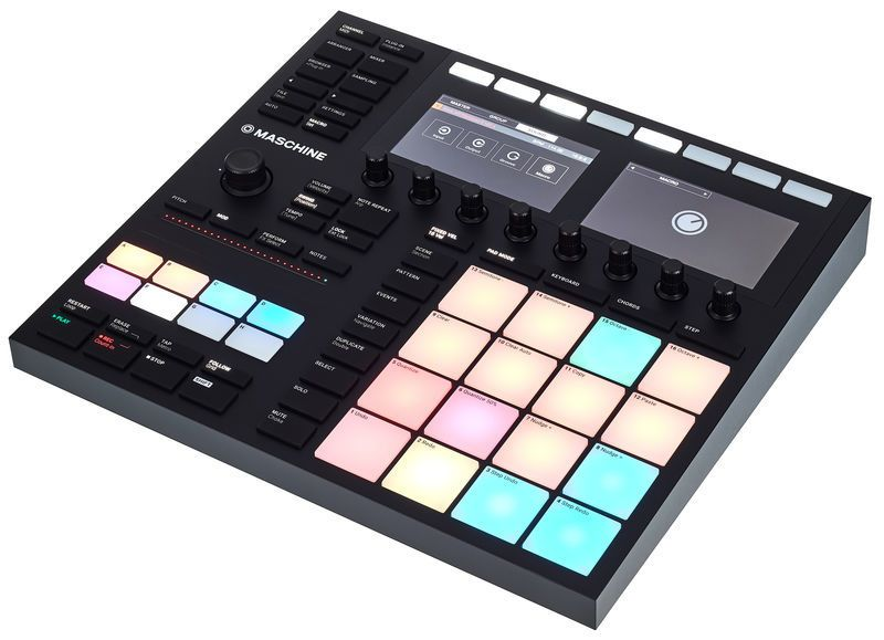 Native Instruments Maschine Mk3 Review An All In One Music Making Playground Native Instruments Instruments Music Recording Studio