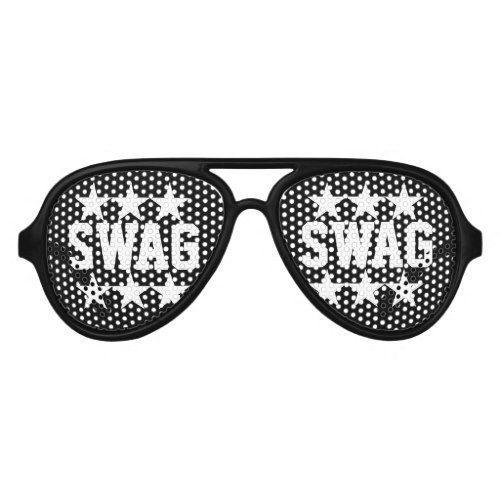 Black Swag party shades sunglasses | Zazzle.com #rockstarparty