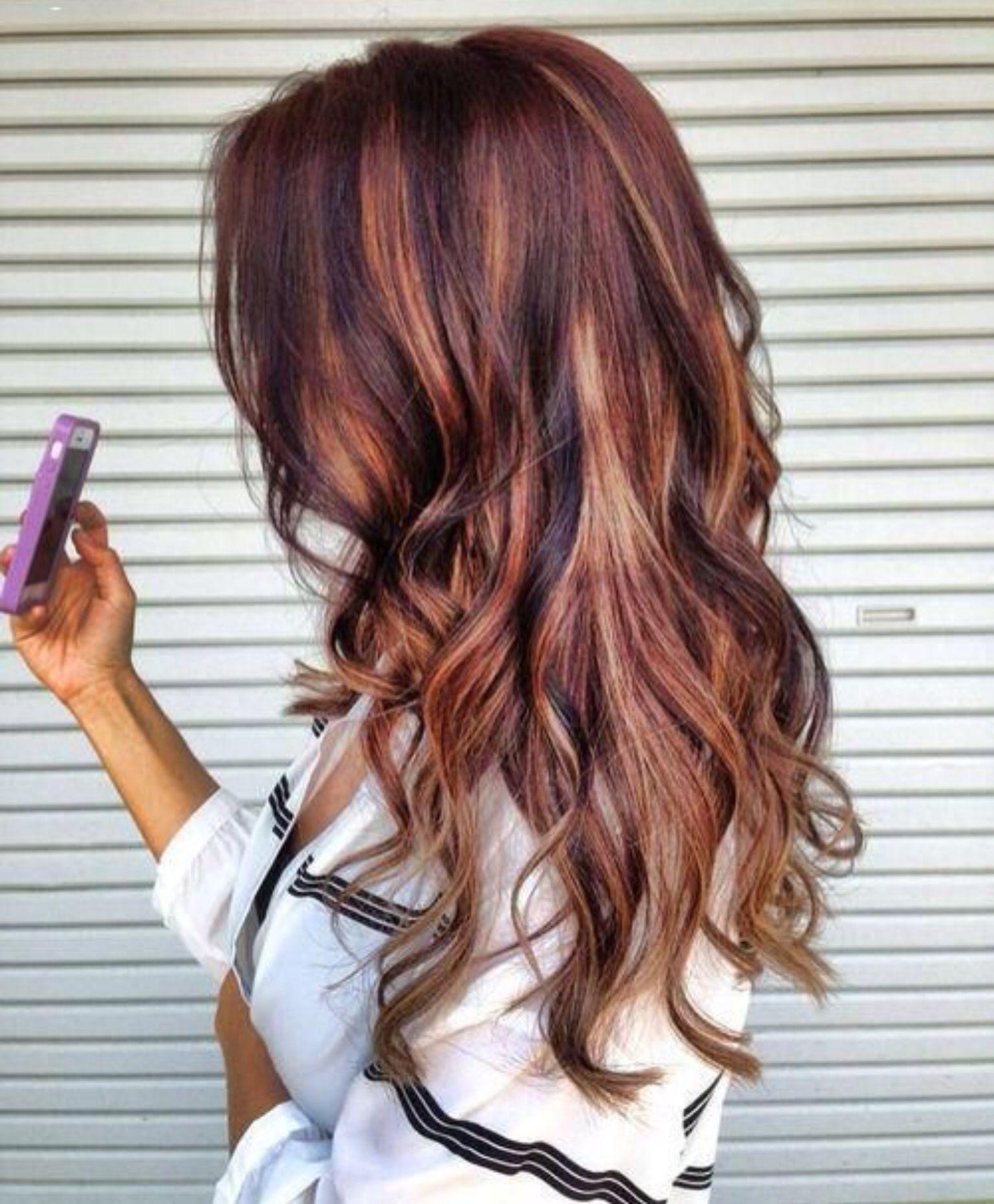 Great color fashionhair pinterest hair coloring