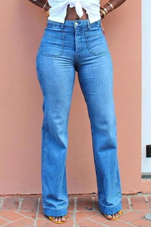 Photo of 2020 Fashion Jeans For Damer Hippy Bukser