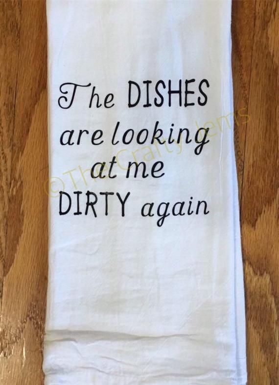 Kitchen Towels/Flour Sack/Unique Funny #handtowels
