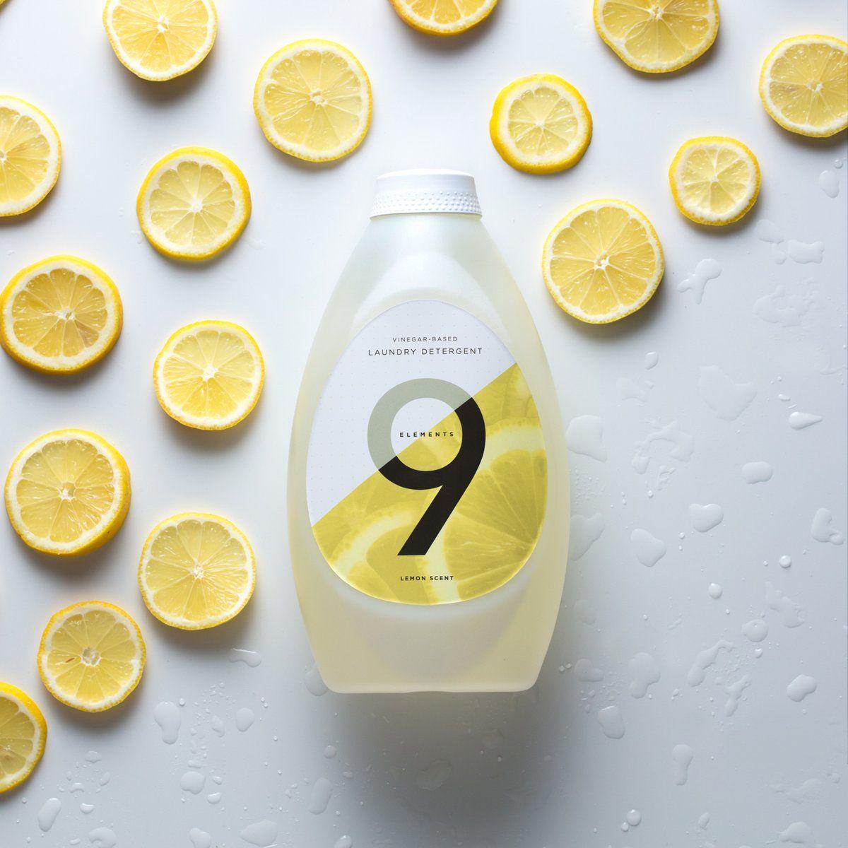 Lemon Laundry Detergent 9 Elements Laundry Detergent Scented