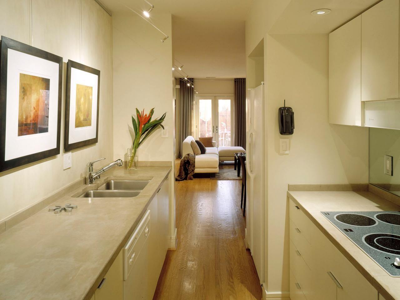 Galley Kitchen Designs | Galley style kitchen, Galley kitchens and ...