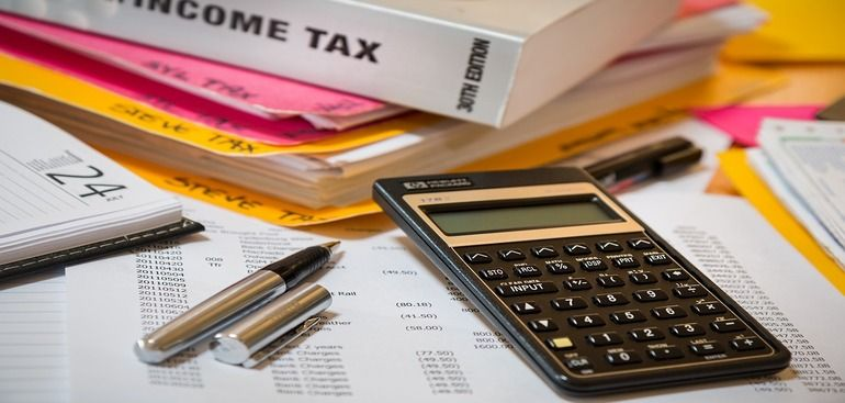 Corporate tax 2020 with images filing taxes