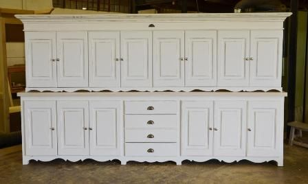 Extra Long Cutlery Server and Wall Unit with custom twirl on bottom ...