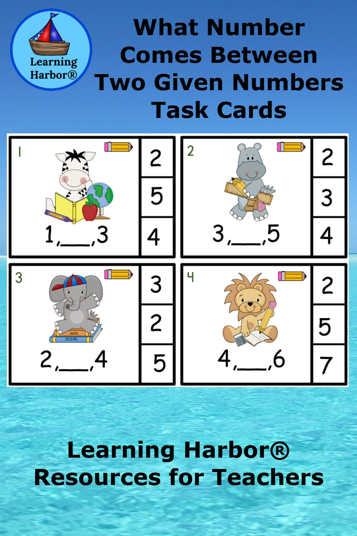 What Number Comes Between Two Given Numbers Math Center