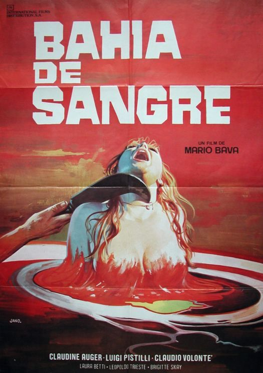 """Mario Bava - """"Bahia de Sangre"""" (Ecologia del delitto/ Twitch of the Death Nerve/ Blood Bath/ Reazione a catena, 1971)"""