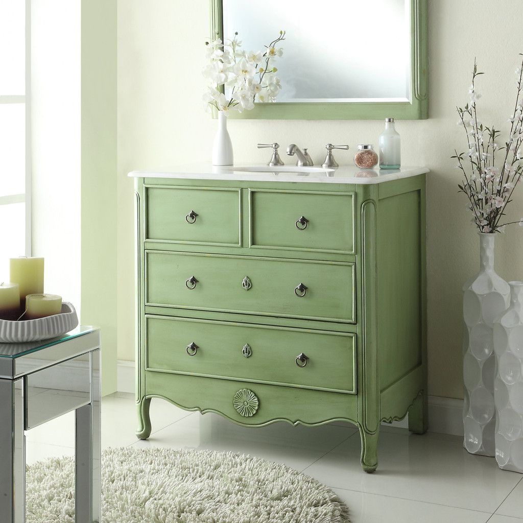 34 cottage look daleville bathroom sink vanity model - Old fashioned bathroom furniture ...