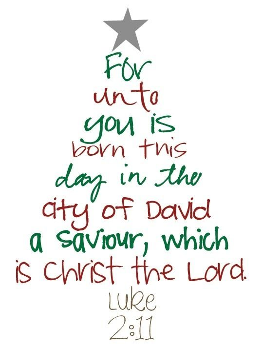 Bible Quote, Christmas