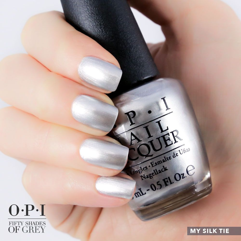 My Silk Tie Swatch Opi Nail Polish Inspired By Fifty Shades Of Grey