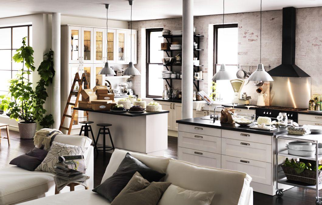 Eine unserer Lieblingsküchen von IKEA zeigt ein Konzept, das sich - küche ikea landhaus